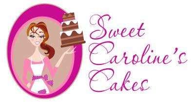 introducing sweet caroline s cakes new logo design
